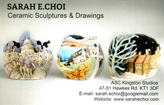 Business card - Sarah Choi