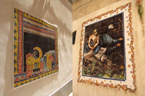 Sicilian wall murals