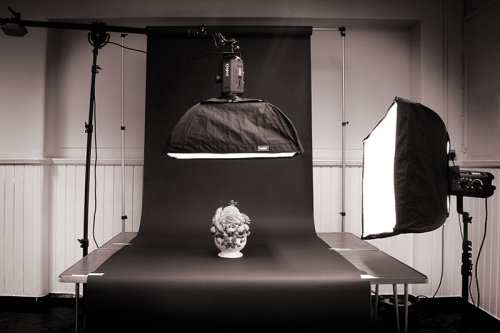 Studio lighting 2 mono (Clikpic 800)