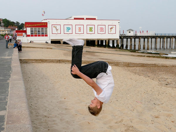 Beach Gymnast