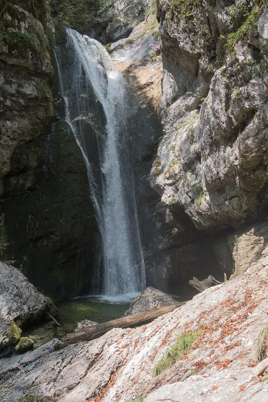 Mostniski waterfall