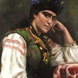 Countess Sofia Dragomirova after Ilya Repin