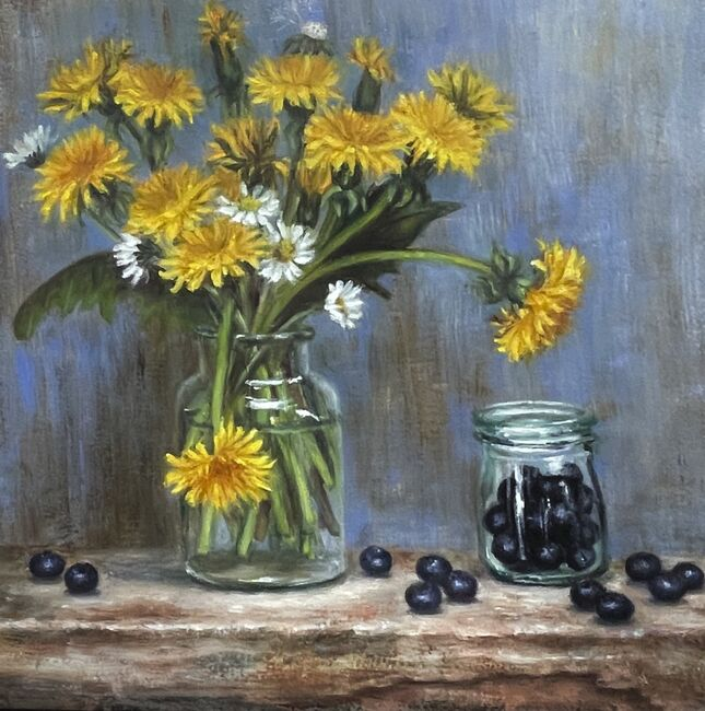 Dandelions and Blueberries