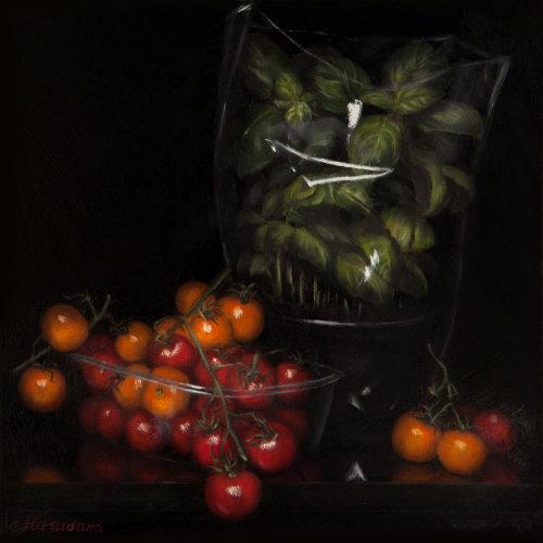 Tesco Finest Series: Cherry Tomatoes & Basil