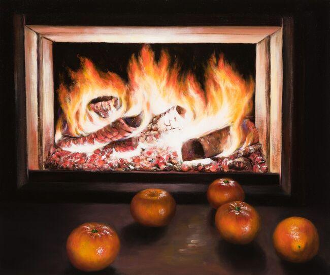 Flamed Oranges