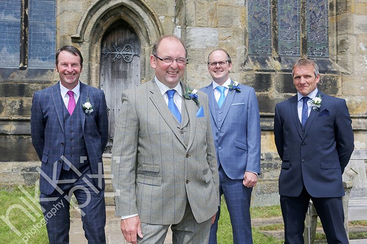 Groomsmen, High Bradfield