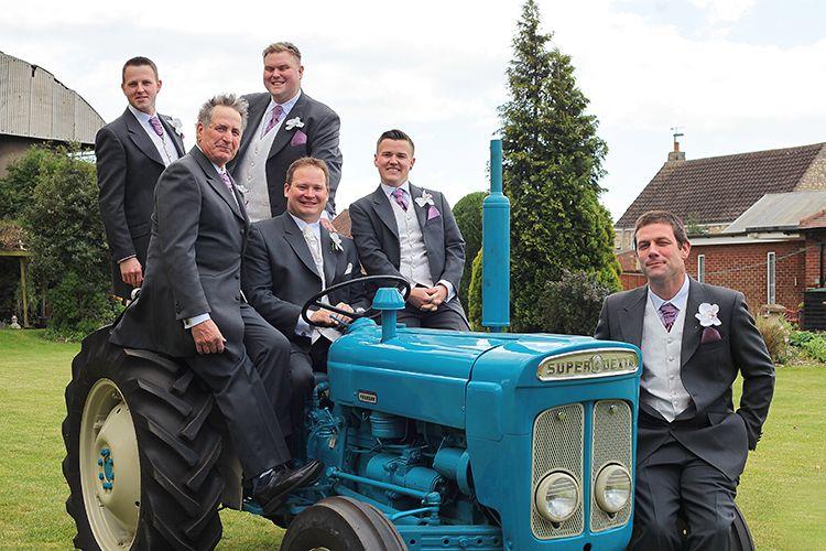 Vintage Tractor - Hambleton