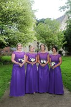 Gorgeous Bridesmaids - All Saints' Church, York