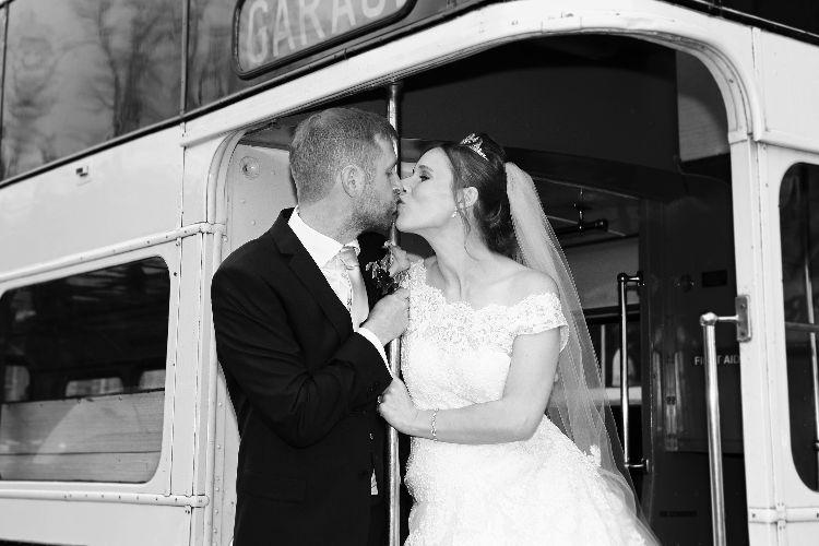 Vintage Bus Wedding