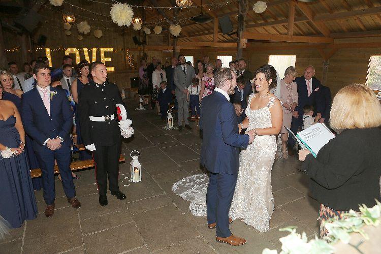 York Maze Wedding Ceremony