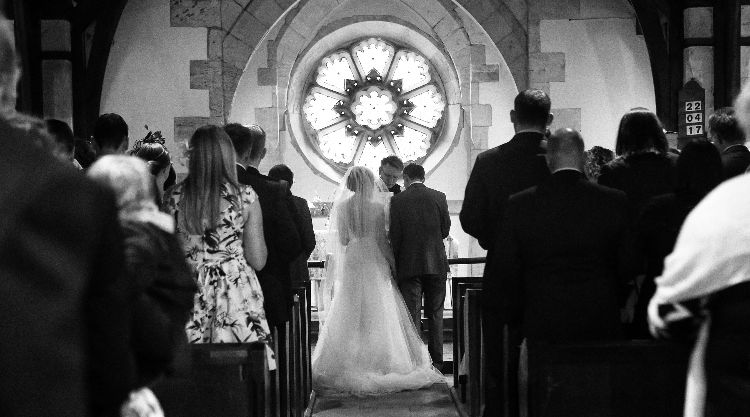 Aldwark Church Wedding