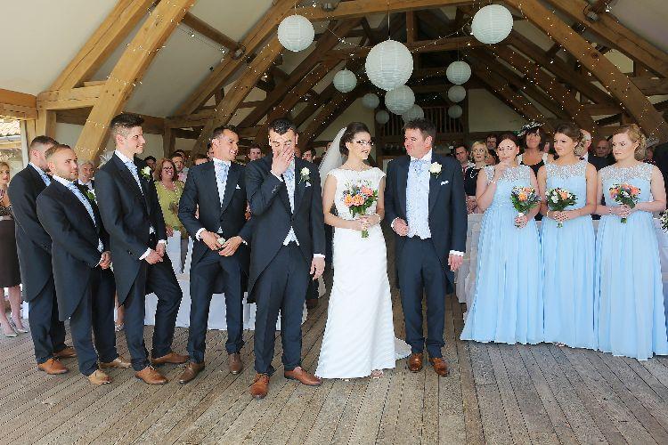 Sandburn Hall Wedding Ceremony