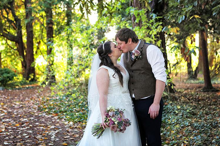 Bride candid photo