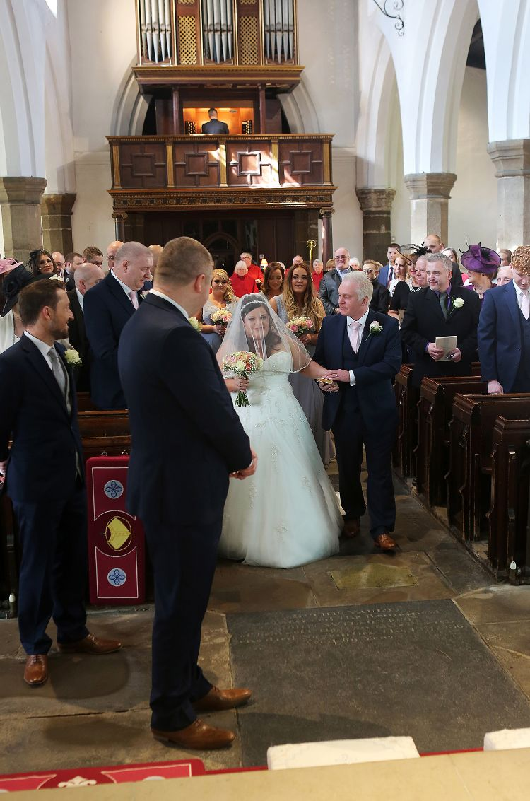 St Mary's Whitkirk Church Wedding