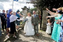High Bradfield Church Wedding
