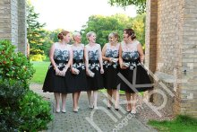 Bridesmaids at South Cave Castle