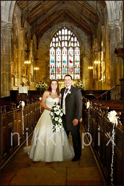 Bolton Percy Church Wedding