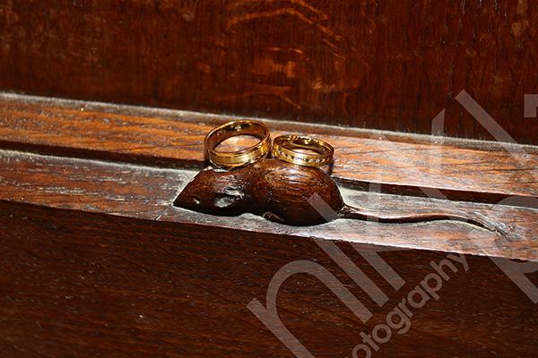 Thompson Mouse Wedding Rings