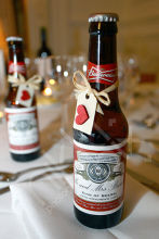 Budweiser Wedding Favour