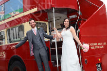 York Vintage Wedding Bus