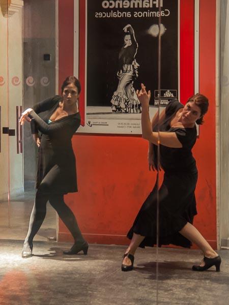 Training at the Flamenco Museum
