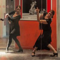 Training at the Flamenco Museum