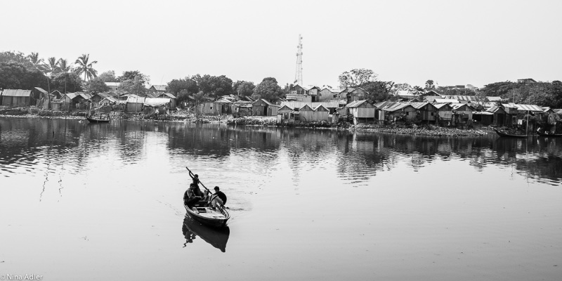 River - 4, Crossing the river in Old Dhaka