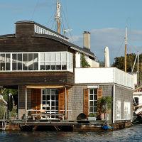 Houseboat in Christianhavns Kanal
