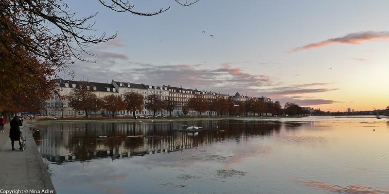 Evening light at Sortedam