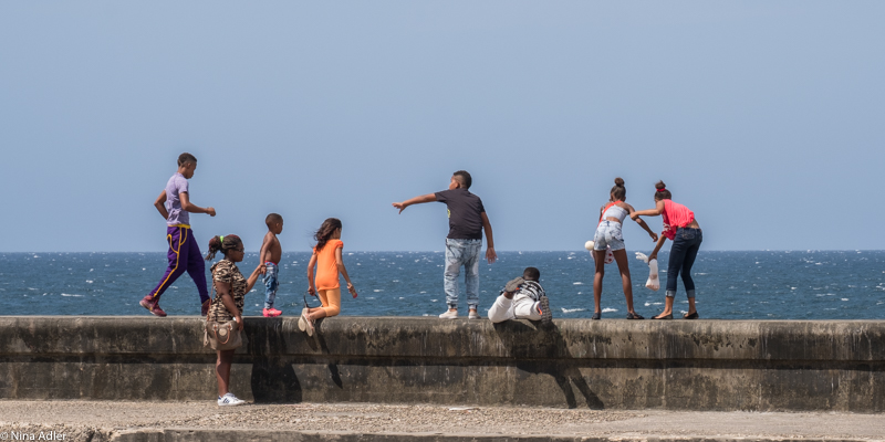 """""""COULEUR CUBA"""" -Dimanche au Malecon"""