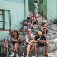 """""""COULEUR CUBA"""" - vert 15"""