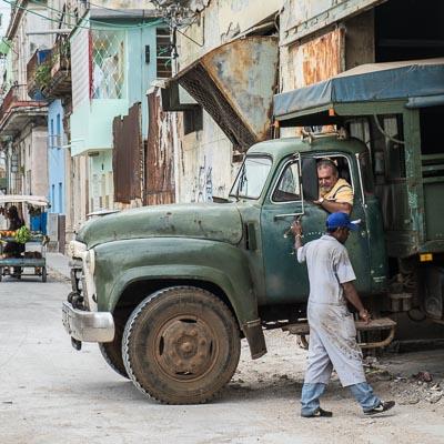"""""""COULEUR CUBA"""" - le camion"""