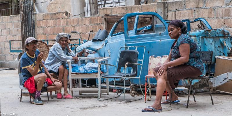 """""""COULEUR CUBA"""" - Sans toit à la Havane"""