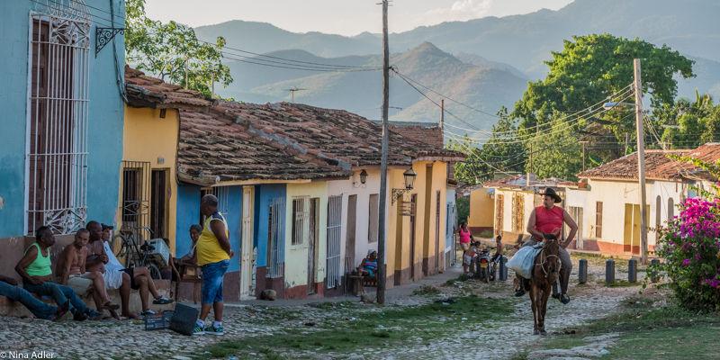 """""""COULEUR CUBA"""" - A cheval"""