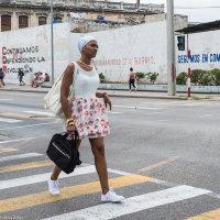 """CUBA COULEUR"" - Jeune femme"