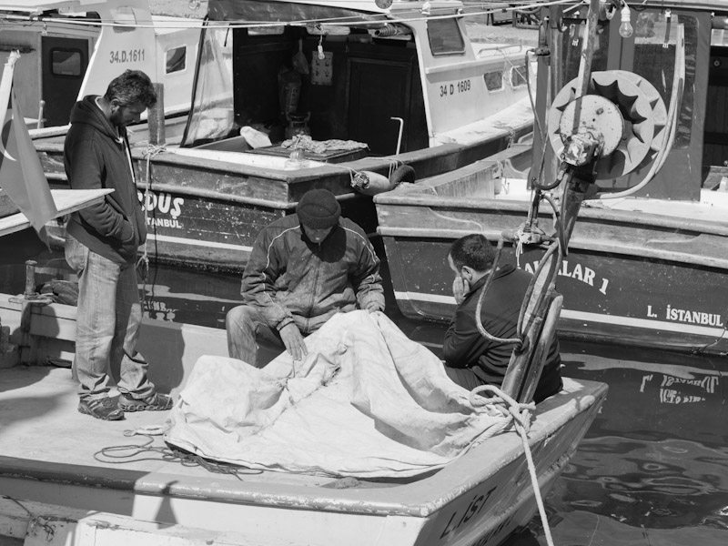 Mending the Sails