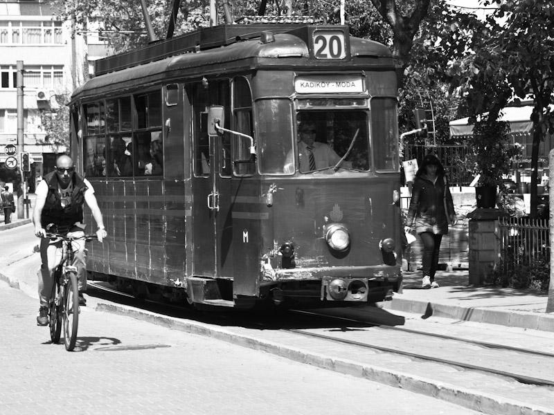 The Kadiköy tram