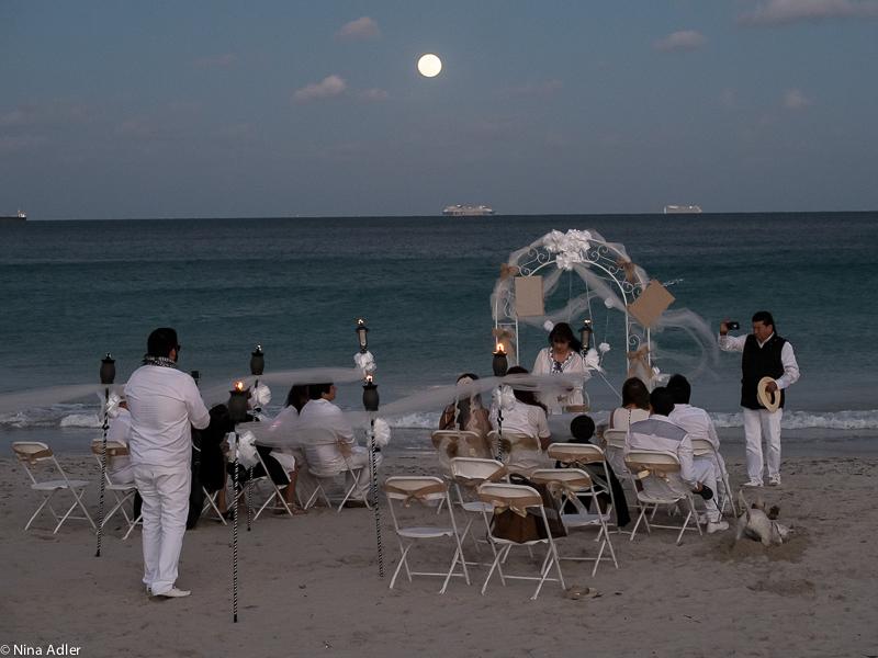 Wedding and full moon