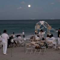 Wedding and full moon