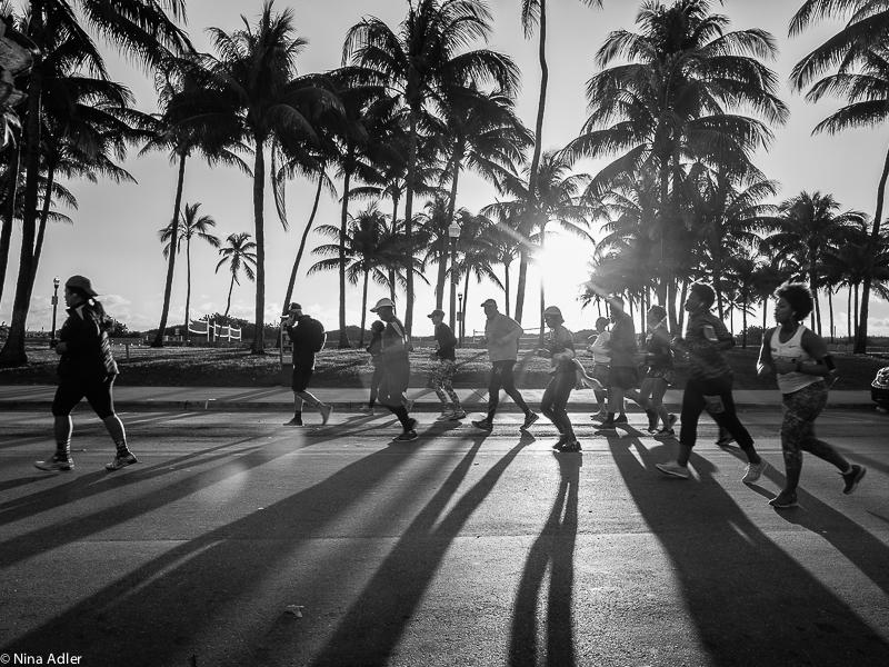 Miami Marathon, early morning