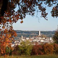 Montcuq in Autumn