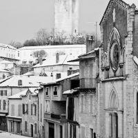 Montcuq in Winter