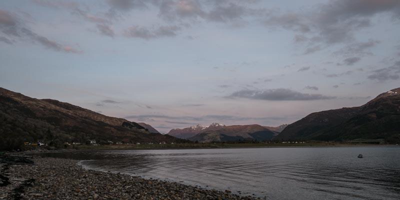 Evening light, Ballachulish