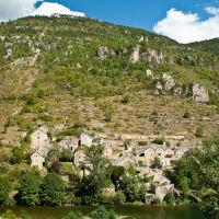 Village on the Tarn River
