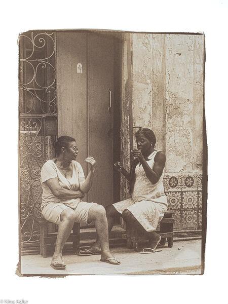 VANDYKE PRINT - CUBA STREETS 14