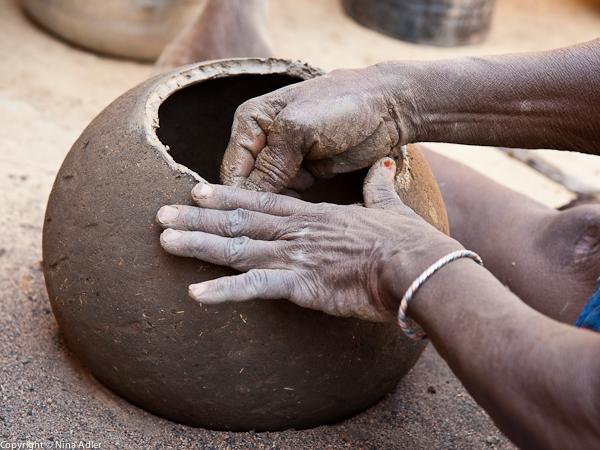 Woman potter