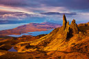 Sunrise at the Old Man of Storr on Skye