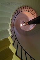 Flamborough Light House spiral staircase