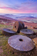 Millstones on Stanage Edge, Peak District National Park