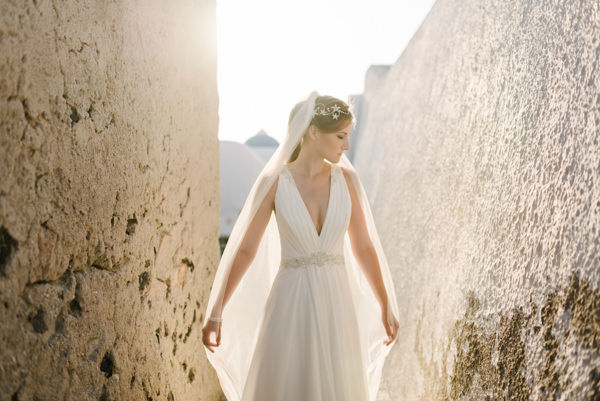 wedding in santorini greece